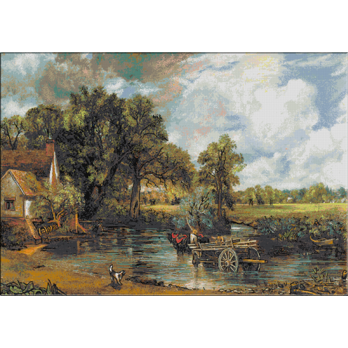558. Constable - Hay-Wain