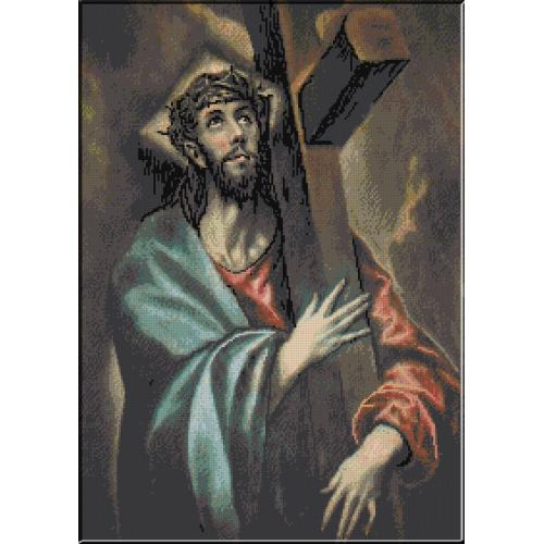 559.El Greco - Crucea lui Christos