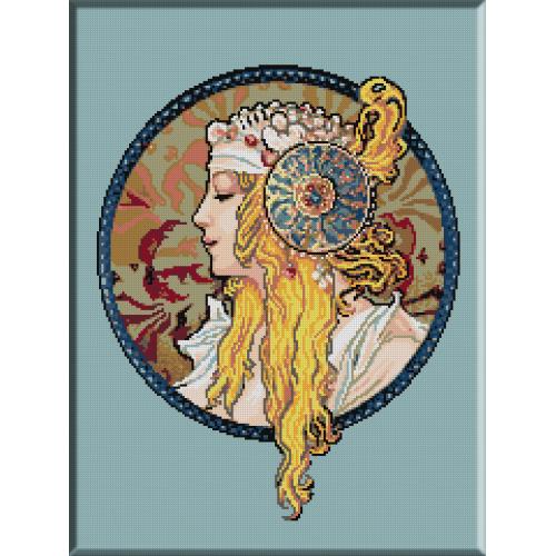 566.Mucha - Blonda