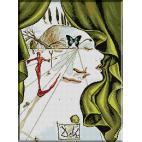 614.Dali - Portretul Katharinei Corne