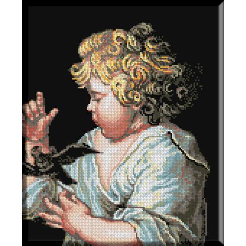 620. Rubens - Baiatul cu pasarea