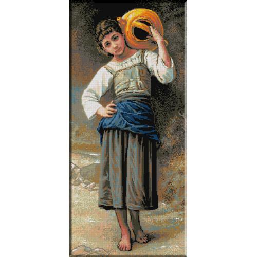 633.Bouguereau - Tanara mergand la fantana