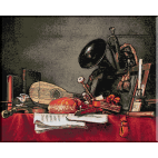 693.Chardin. Atributele muzicii