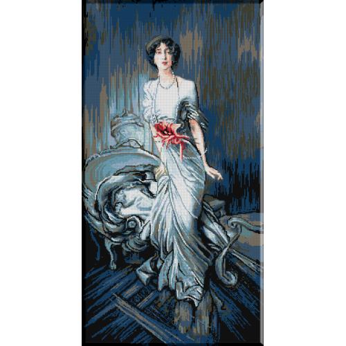 824.Portretul Doamnei E.L.Doyen