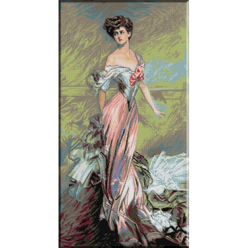 825.Portretul Domnisoarei H. Johnston