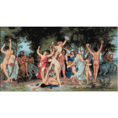 1030.Bouguereau - Tineretea lui Bachus