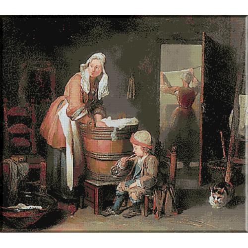 1041.Chardin - Spalatoria