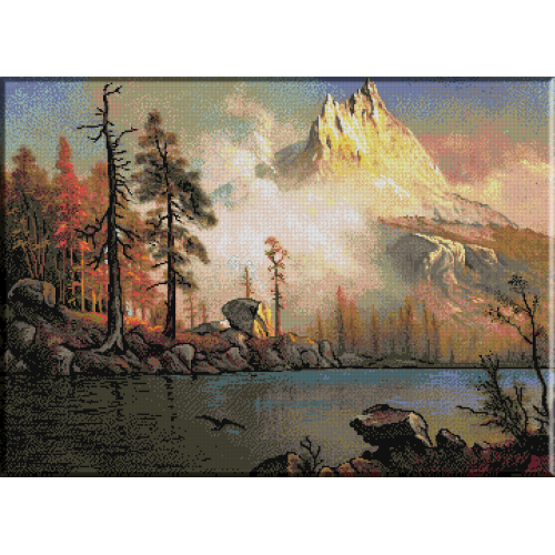 1068. Bierstadt - Lac de munte
