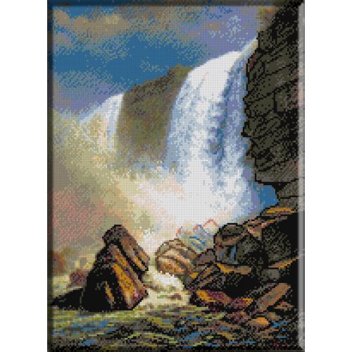 1075. Bierstadt- Cascada Niagara