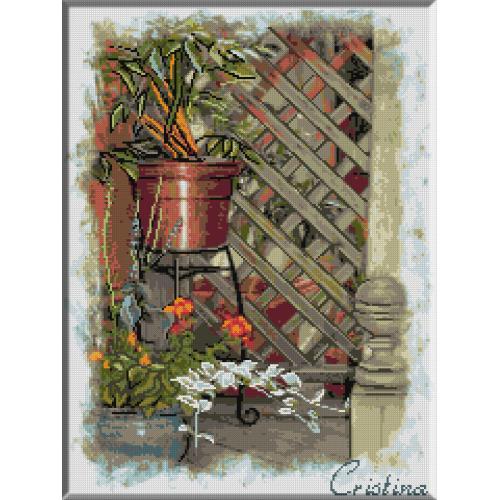 1080 - Cristina . Coltisorul meu cu flori