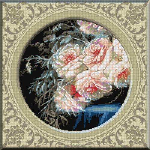 1109 - Cristina . Splendoare monocolora