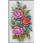046. Triptic trandafiri