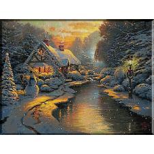 goblen-peisaj-de-iarna
