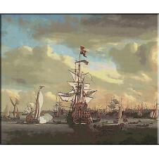 101. Van de Velde.Batalia de la Amsterdam
