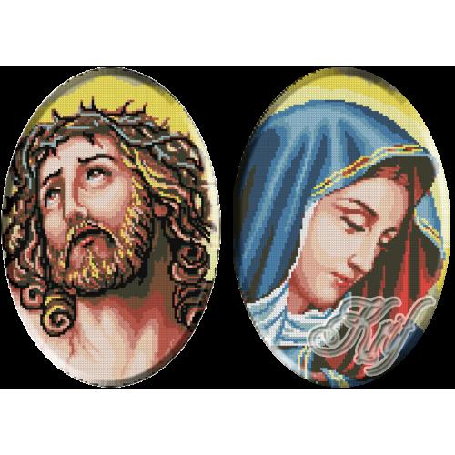 074. Isus si Maria ( mici-set )
