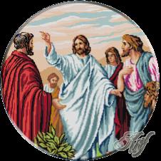082. Isus cu apostolii