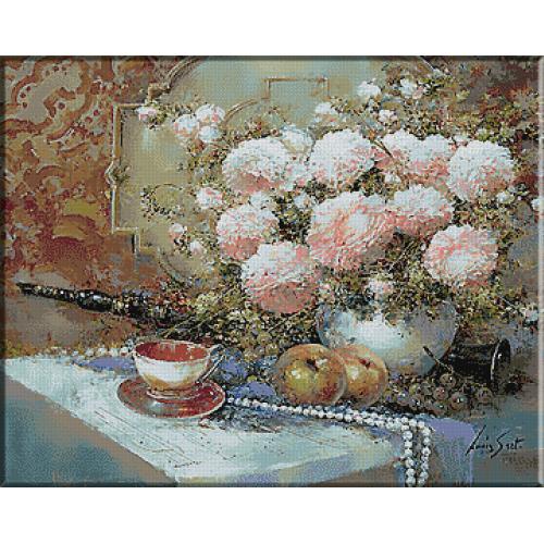 1652. Natura statica cu perle