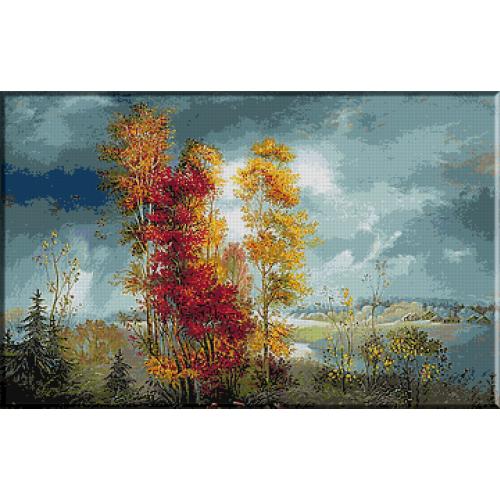 1567.Culorile toamnei