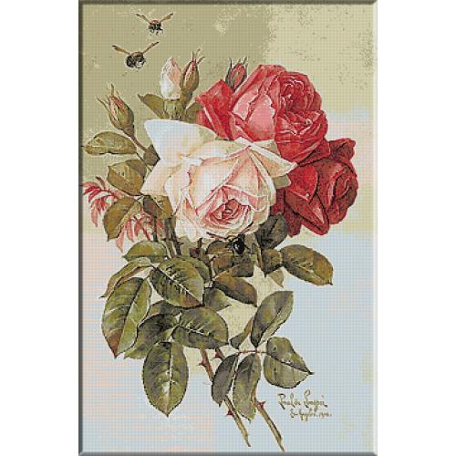1693.Paul De Longpre - Trandafiri pentru tine