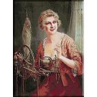 1623. Martin Kavel - Femeie torcand