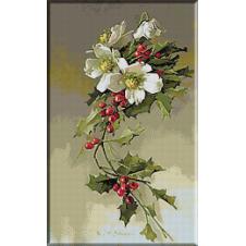 1665.Klein - Trandafiri in iarna