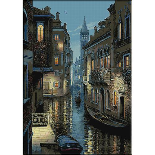 1644.Seara in Venetia
