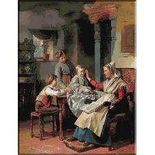 1648.Theodore Gerard - Impreuna cu bunica