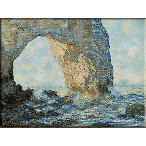 346.Monet - La Manneport