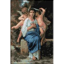 489.Bouguereau - Primele sentimente