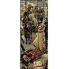 796.Tissot - Peronul garii Victoria-Londra