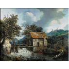830.Van Ruisdael - Doua mori langa Singraven