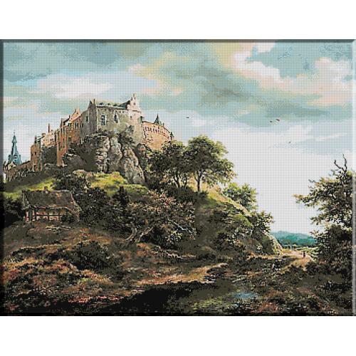 831.Van Ruisdael - Castelul Bentheim