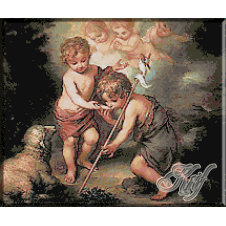 151.Murillo- Copilul Isus si Ioan