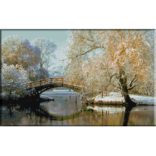 1913.Iarna in parc
