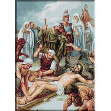 2033.Christos este rastignit pe cruce