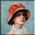 985.N.Grigorescu - Cap de fata cu palarie