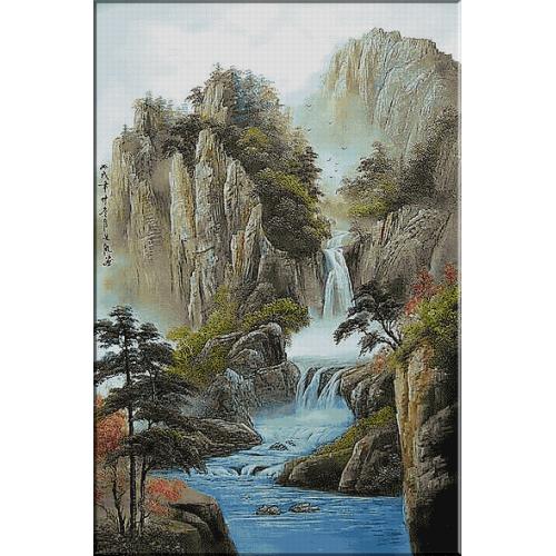 1472. Cascada in Xanadu
