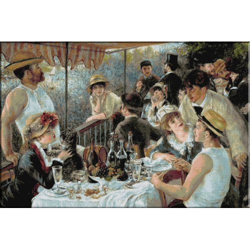 1364 - Renoir. Pranzul canotierilor