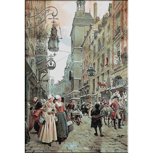 2078.Maurice Leloir. - Strada pariziana