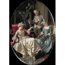 Pio Ricci-Admirand darurile primite goblen clasic