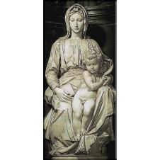 695.Michelangelo.Madona cu copilul