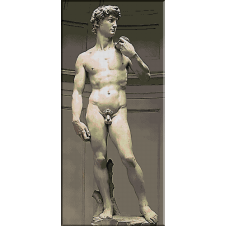 696.Michelangelo. David