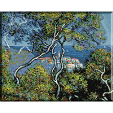 409.Monet - Bordighera