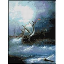 929.Aivazovski - Furtuna