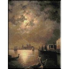932.Aivazovski - Noaptea la Venetia
