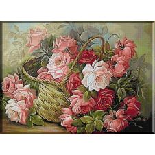 goblen_cos_cu_trandafiri