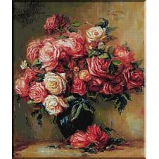 goblen-renoir-buchet-trandafiri