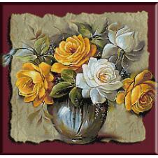 goblen cu trandafiri