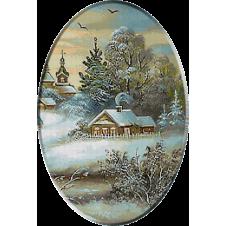 Iarna inainte de Craciun_goblen