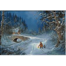 goblen spre casa in noaptea magica de Craciun